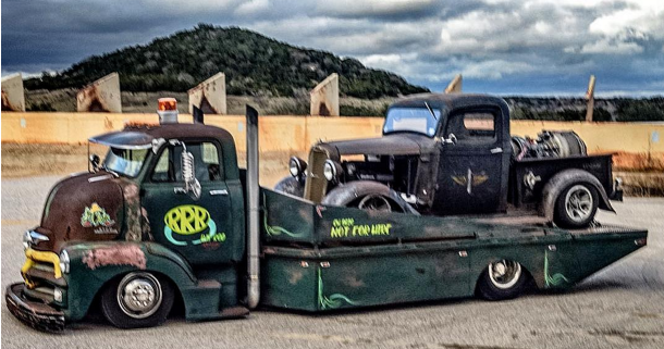 Here Are 10 Pics of A Rat Rod Hauler In The Lone Star State You're Sure To Love