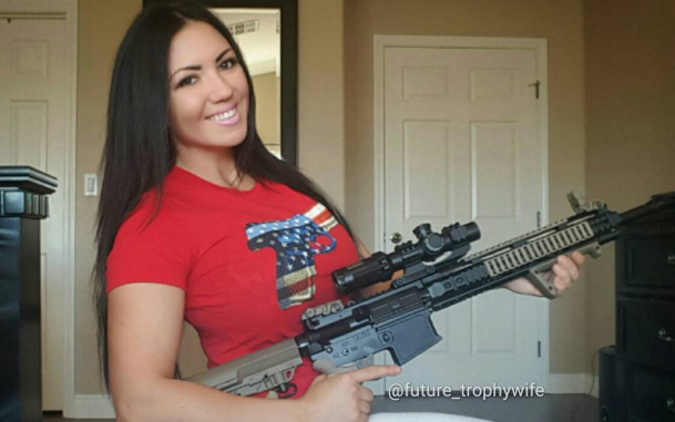 This Smokin' Hot 2nd Amendment Lover Is Our Instagram Babe Of The Day