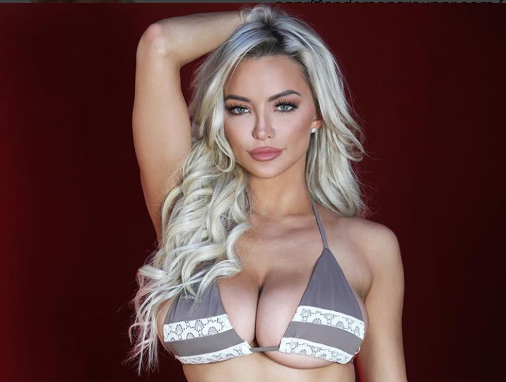 Watch The 'Genetically-Gifted' (32DDD-23-31) Lindsey Pelas In Motion